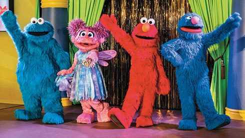 Shows with your favorite Sesame Street friends