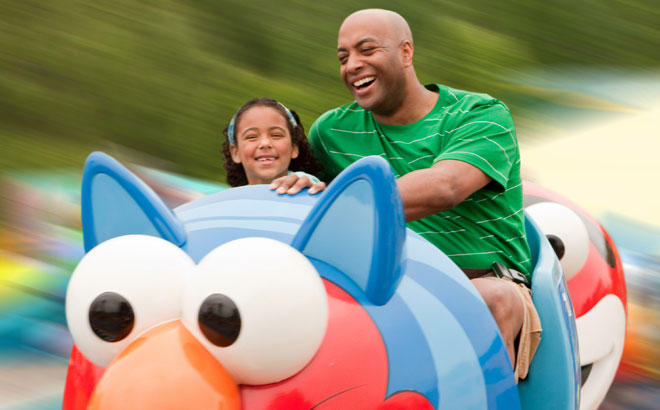 Family fun rides at Sesame Place