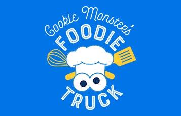 Cookie Monsters Foodie Truck at Sesame Place San Diego