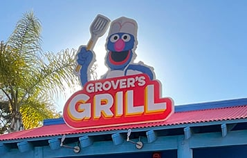 Grovers Grill at Sesame Place San Diego