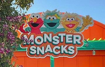 Monster Snacks at Sesame Place San Diego