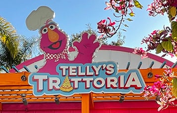 Telly's Trattoria at Sesame Place San Diego