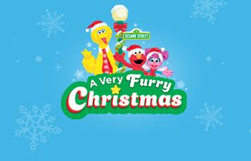 A Very Furry Christmas Celebration at Sesame Place San Diego