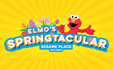 Elmos Springtacular at Sesame Place San Diego