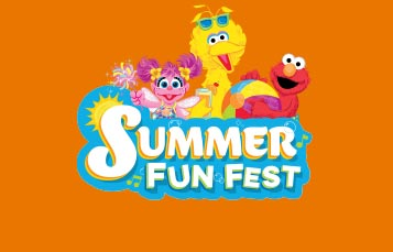 Summer Fun Fest event at Sesame Place San Diego
