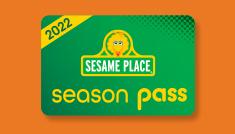 Sesame Place 2022 Season Pass Card Icon