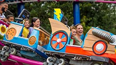Family Rides and Water Slides at Sesame Place San Diego