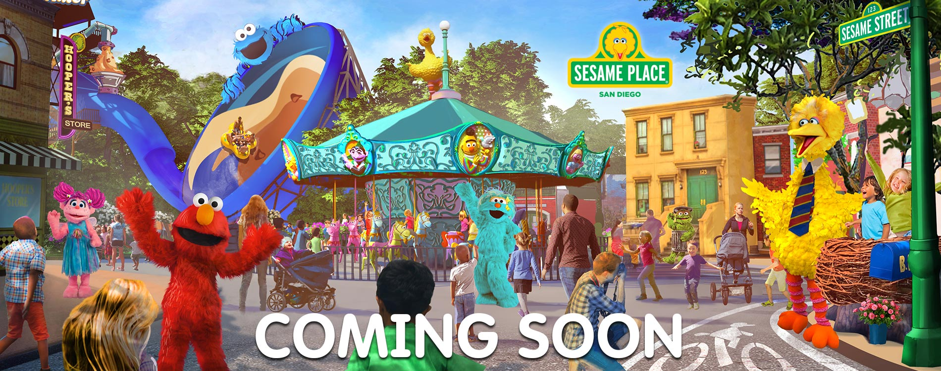 Sesame Place coming to San Diego!