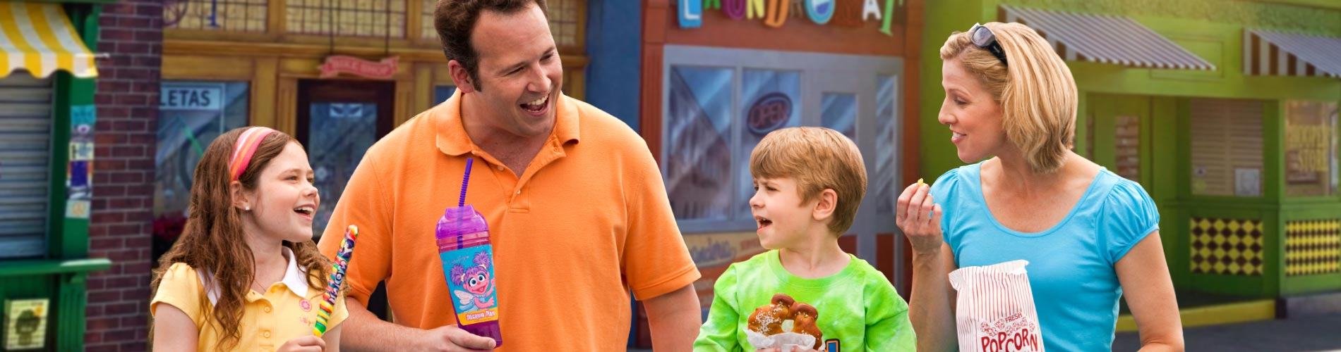Restaurant and Dining options at Sesame Place San Diego