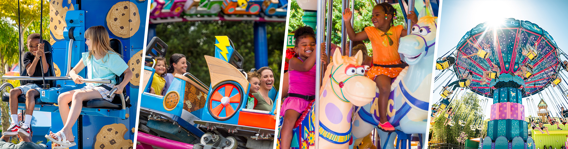Family Friendly Rides at Sesame Place San Diego