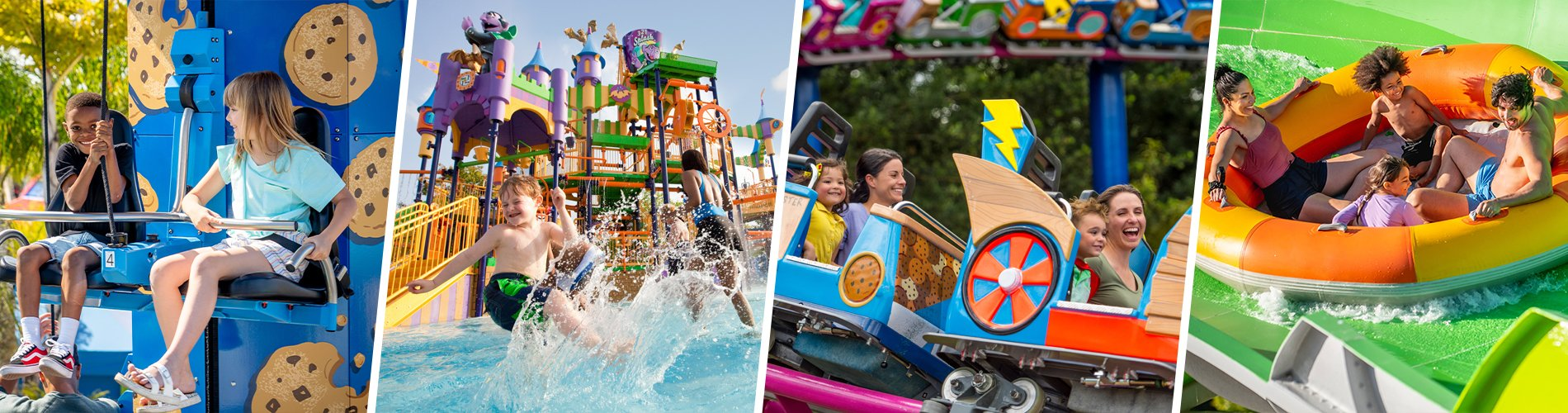 Rides and Slides at Sesame Place San Diego