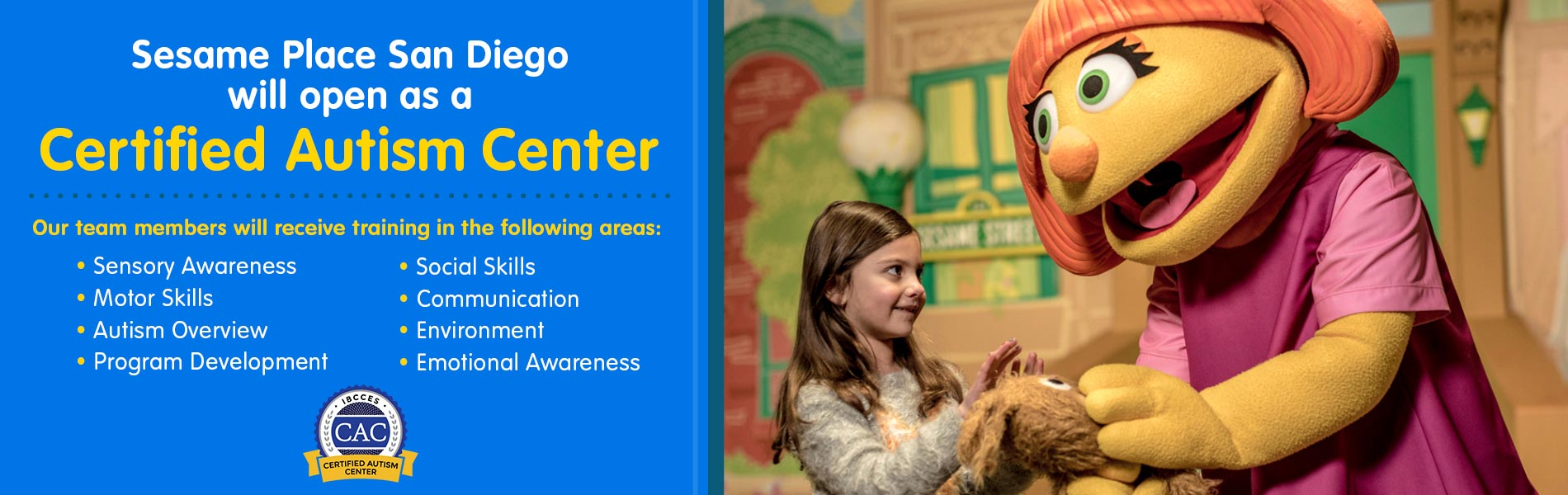 Find a job at Sesame Place® San Diego!