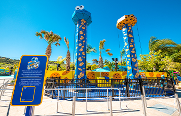 Cookie Climb Attraction at Sesame Place San Diego