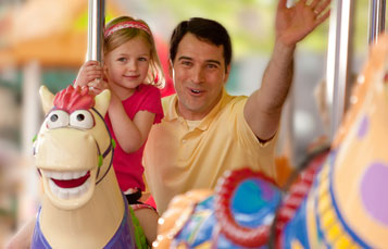 Sunny Day Carousel at Sesame Place San Diego