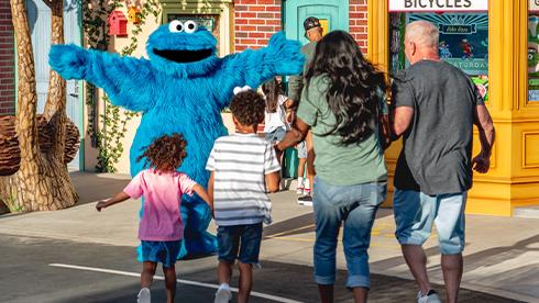 Meet your Sesame Street Friends at Sesame Place San Diego