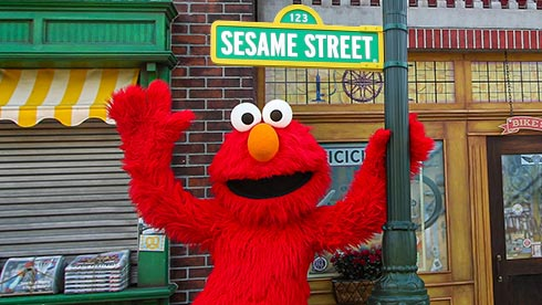 Photos with Elmo and Friends at Sesame Place San Diego