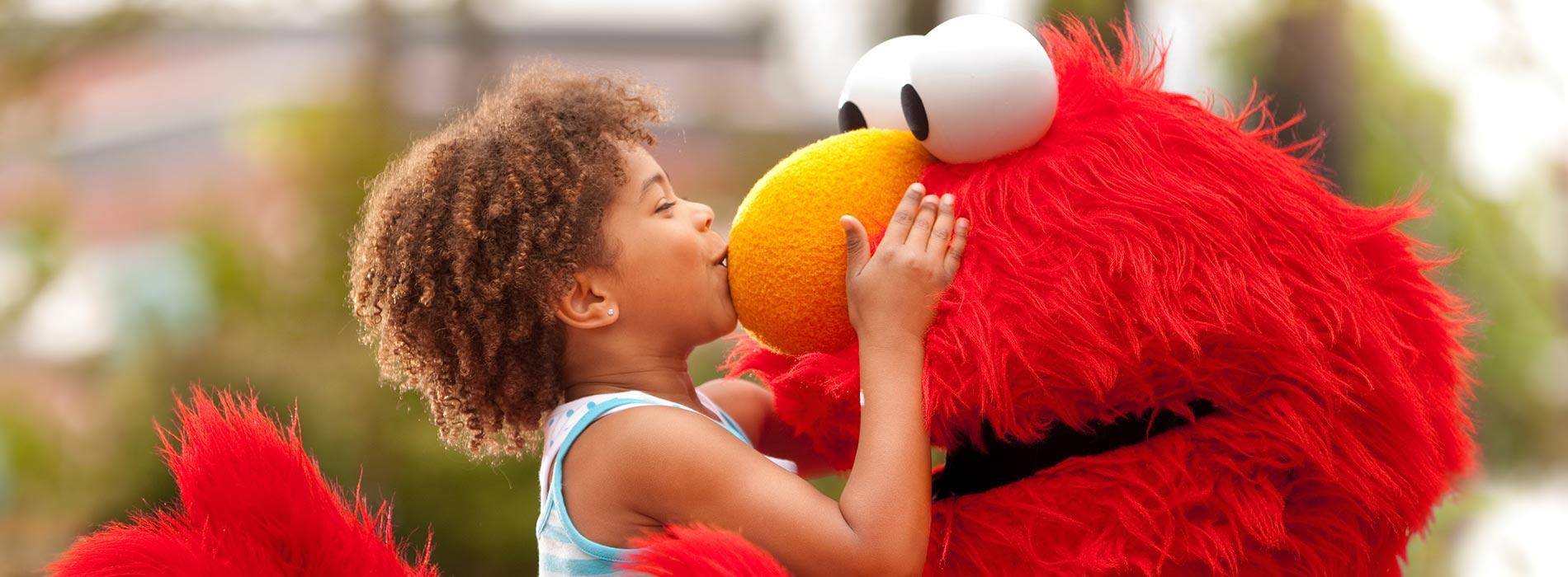 Meet Elmo at Sesame Place San Diego