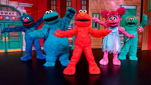 Sesame Place San Diego Live Character Shows