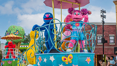 Sesame Street Party Parade at Sesame Place San Diego