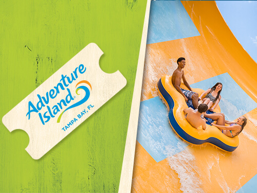 Adventure Island Tampa Bay Single-Park One-Day Admission Ticket
