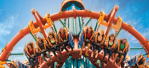 Busch Gardens is Florida's family thrill ride leader with one-of-a-kind attractions like Falcon's Fury