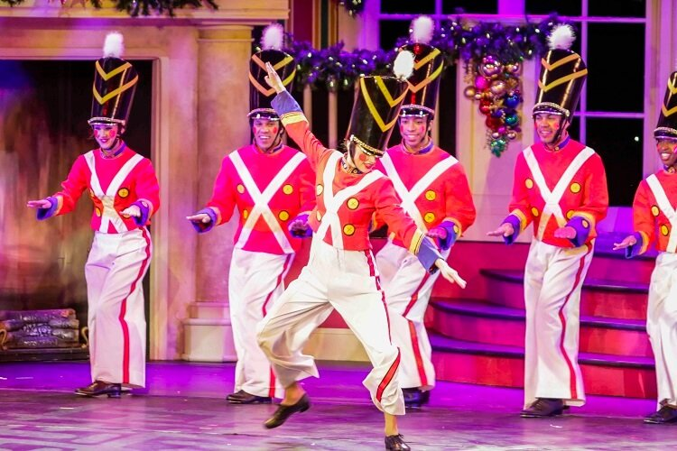Christmas Toy Soldiers at Busch Gardens Tampa Bay