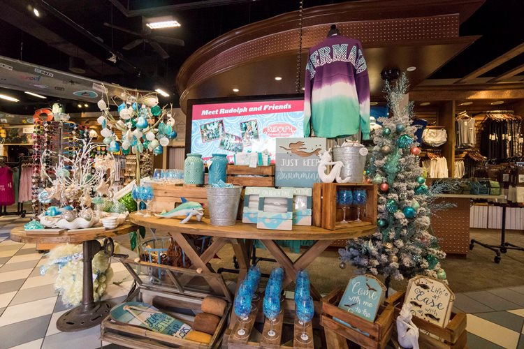 Beach Display at Busch Gardens Tampa Bay