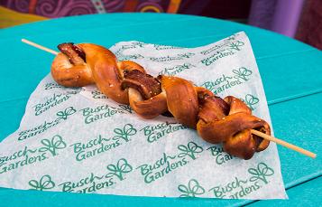 Bacon Pretzel Fury at Busch Gardens Tampa Bay