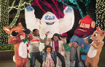 Rudolph at Busch Gardens Tampa Bay