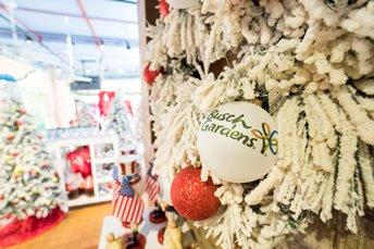 Wreath at Busch Gardens Tampa Bay