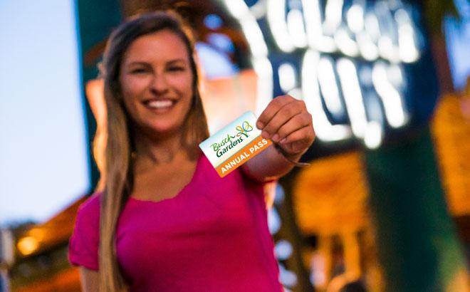 Busch Gardens Tampa Bay Annual Pass Member