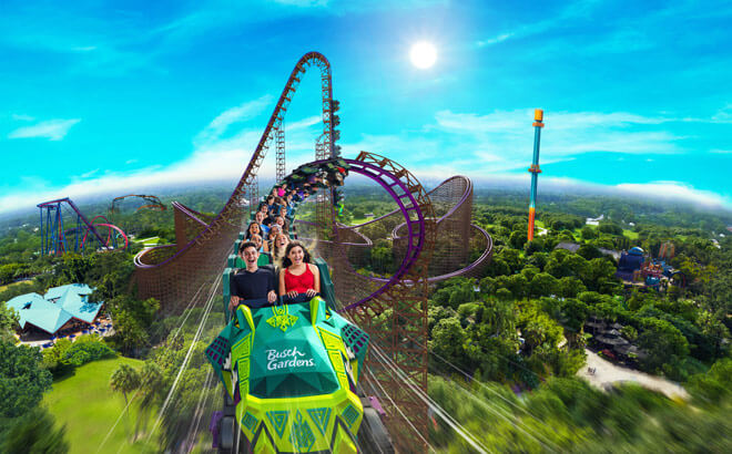 Iron Gwazi - North America's tallest and the world's fastest and steepest hybrid coaster coming in 2021.