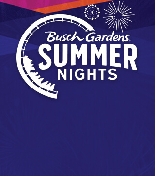 Summer Nights at Busch Gardens Tampa Bay Event Logo