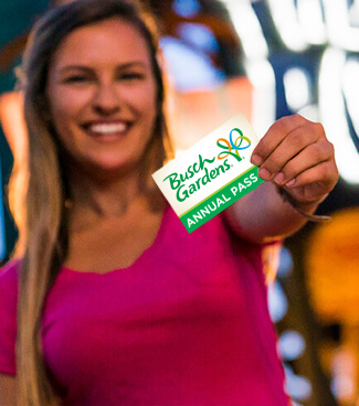 Become a Busch Gardens Annual Pass Member