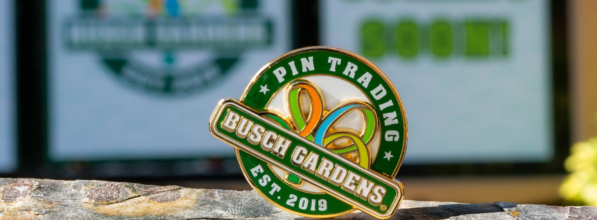 Participate in Pin Trading at Busch Gardens Tampa Bay