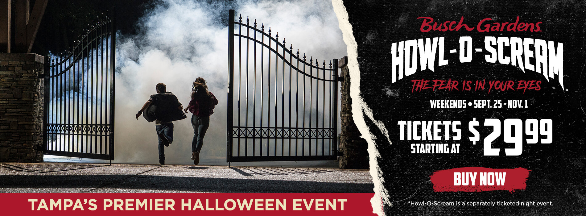 Tampa's Premier Halloween Event Tickets Starting at $29.99