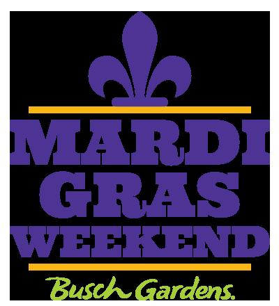Mardi Gras Weekend at Busch Gardens Tampa Bay