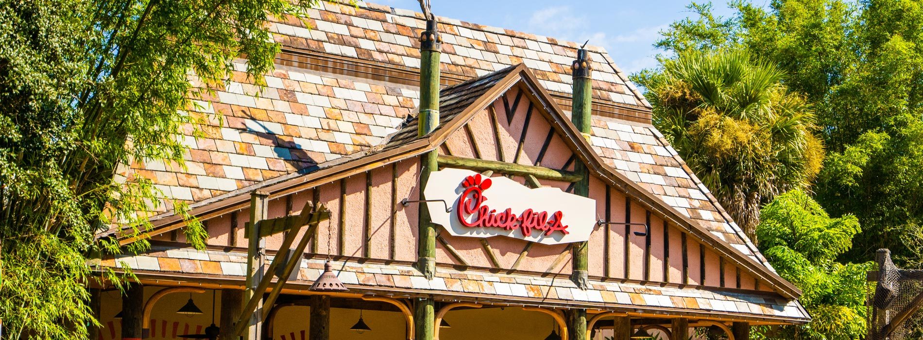 Chick-Fil-A at Busch Gardens Tampa Bay