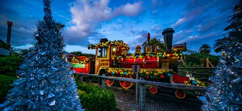Holly Jolly Express Train Ride