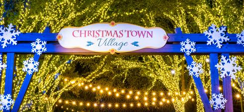 Christmas Town Village