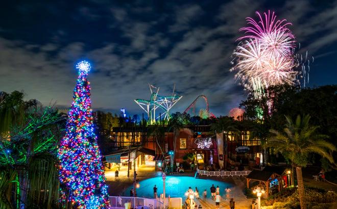 Christmas Town Fireworks