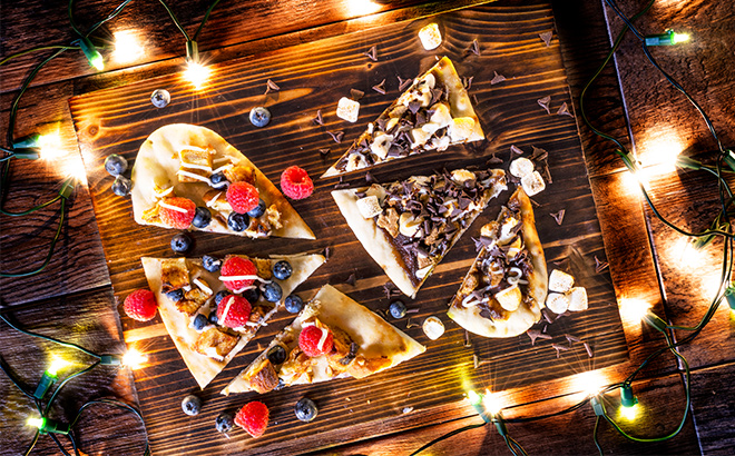 Holiday Flatbreads at Christmas Town