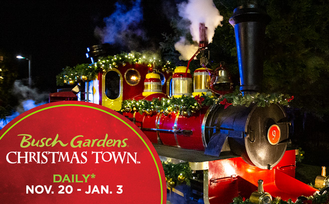 Busch Gardens Christmas Town Holiday Event