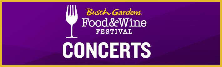 Food & Wine Festival Concerts