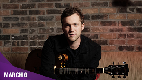 March 6 - Phillip Phillips
