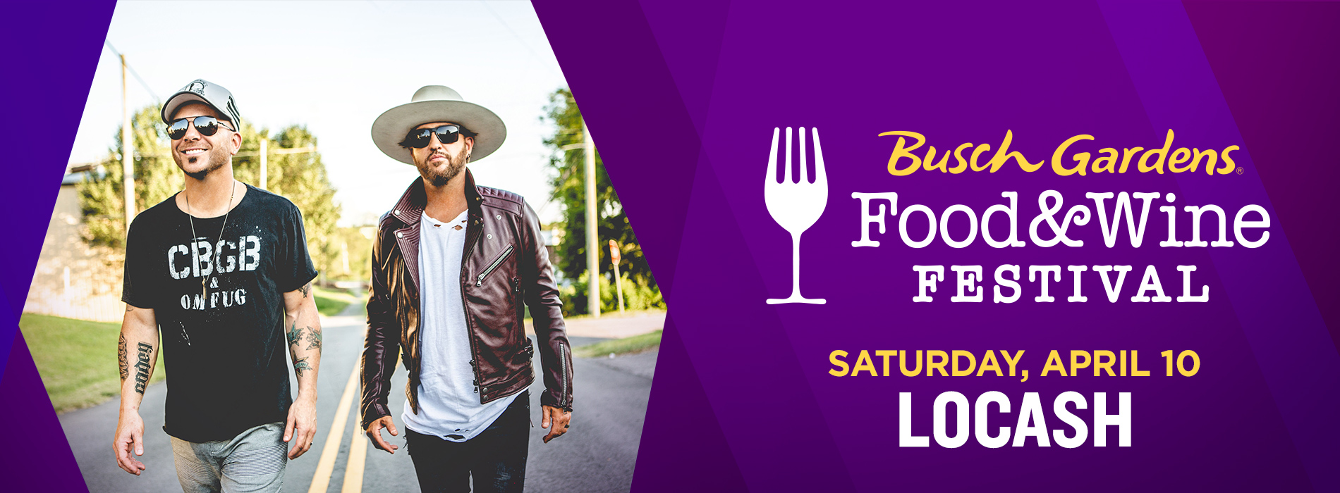 Saturday, April 3: LOCASH