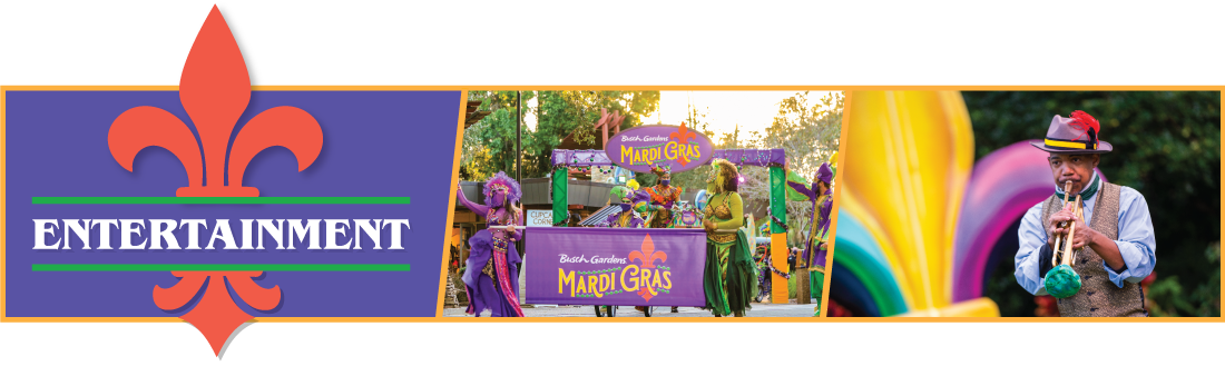 Mardi Gras Menu Icon