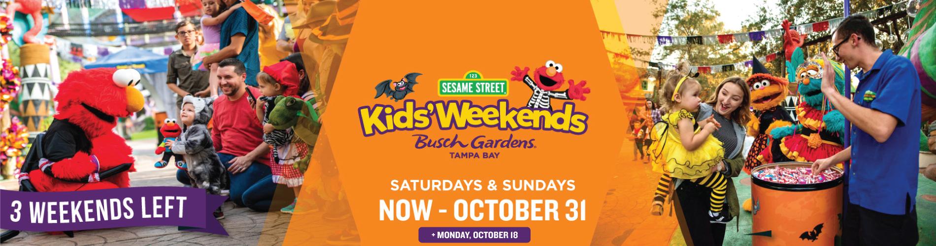 Sesame Street Kids' Halloween Weekends