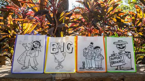 Sesame Street® Reusable Bags