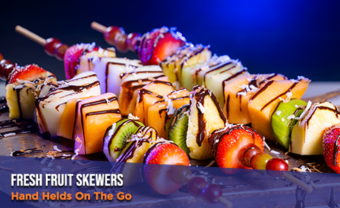 Fruit Skewers from Hand Helds On The Go